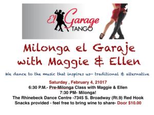 Tango Milonga 2/4/17