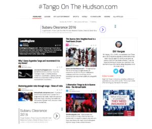 Tango Newspaper