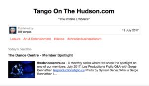 Tango News 7/19/17
