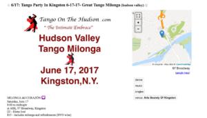 Tango Milonga 6-17-17