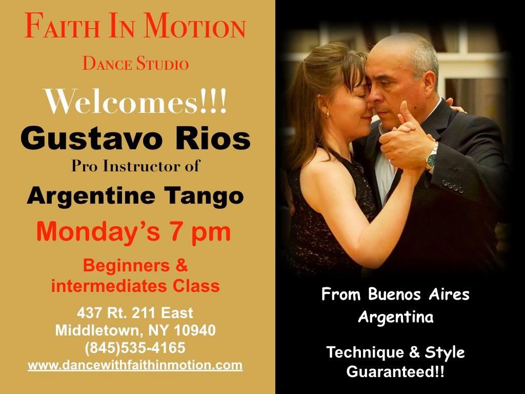Gustavo Rios Tango Lessons